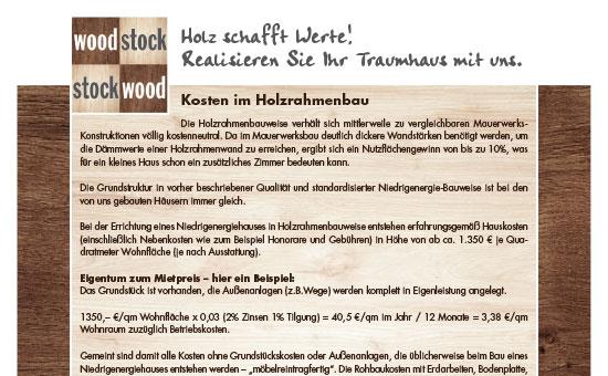 Außergewöhnlich Flyer & Broschüren - Holzbau Janssen @KD_42